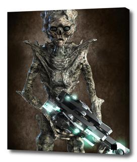 Alien Flesh Eater