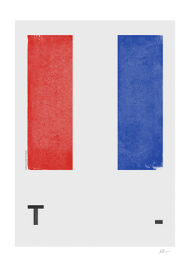 International Maritime Signal Flag Alphabet - T