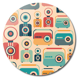 Retro Radios and Cameras