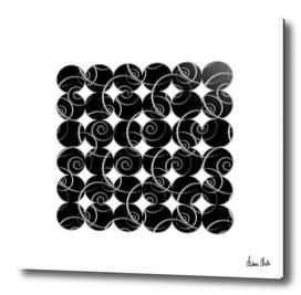 Abstract Circles   spiral pattern no. 8