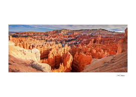 Sunset Point at Bryce Canyon Panorama