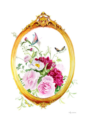 frame flowers