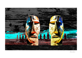 ABSTRACT EXPLORATIONS EASTER ISLANDS