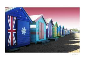 Bathing Boxes, Brighton Beach
