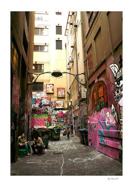 Graffiti lane, Melbourne