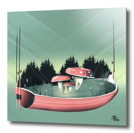 Fishing for Mushrooms