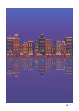 Amsterdam. Vertical format
