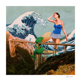 The Wave, the Princess and the Frogs