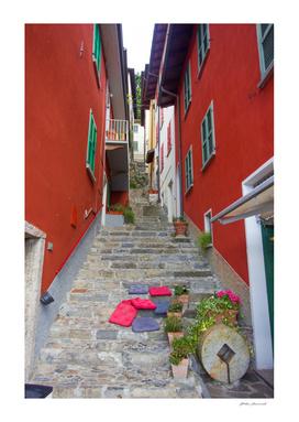 Cozy italian street