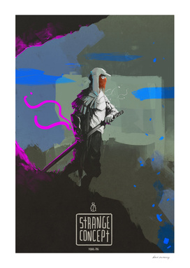 Strange concept - samurai