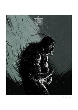 Strange concept - Monter of swamp
