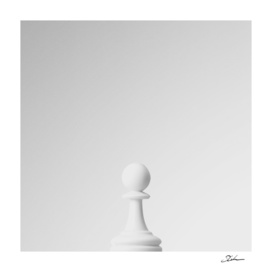 GAME OF THE THRONE / THE WHITE PAWN