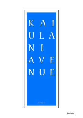 Kaiulani Avenue - Honolulu