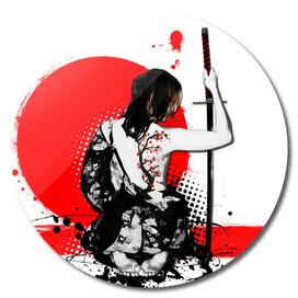 Trash Polka - Female Samurai