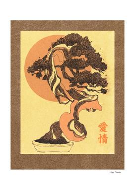 Light that illuminates bonsai