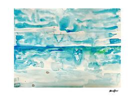 Miami Beach Watercolor #2