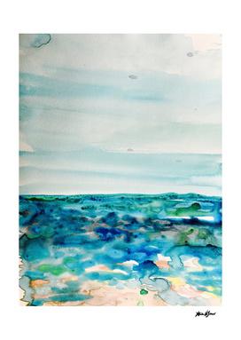 Miami Beach Watercolor #8