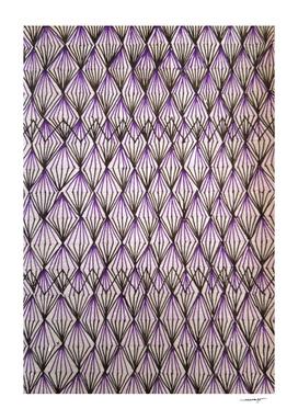 Half Purple Diamond