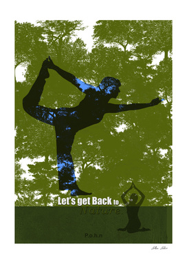 Let's get back to nature-Yoka