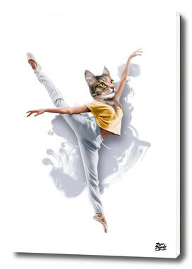 Dancing Cat Girl Pepe Psyche