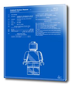 Toy Figure Patent v1 - Blueprint