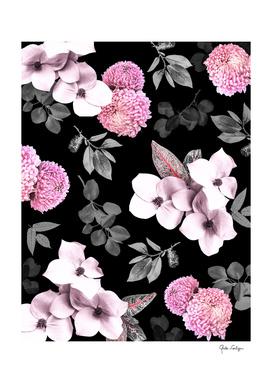 Night bloom - pink blush