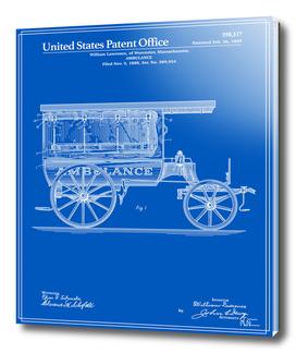 Ambulance Patent - Blueprint