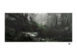 Alien forest.