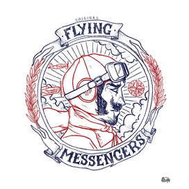 ORIGINAL FLYING MESSENGERS AVIATOR