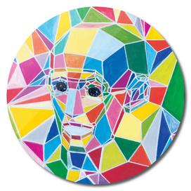 Polygonal man