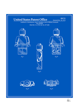 Toy Figure Patent v2 - Blueprint
