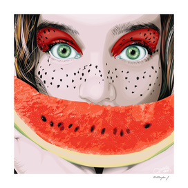 Watermelon woman