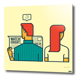 Watch at your right