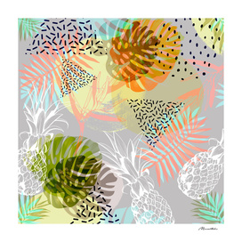 Abstract geometric and tropical elements