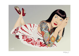 Tattoo Pinup