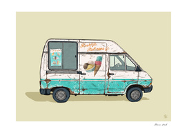 Dutch Ice Cream van