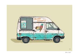 Dutch Ice Cream van