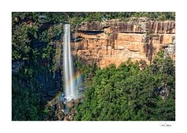 Rainbow at Fitzroy Falls -NSW, Australia.