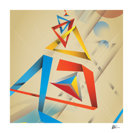 Abstractionist – Pyramids