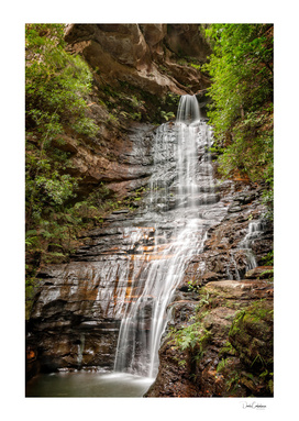 Empress waterfall -Blue Mountains, Australia