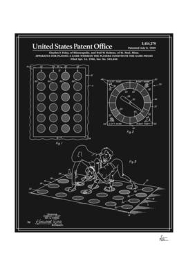 Vintage Game Patent - Black