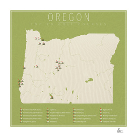 Oregon Golf Courses