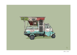 Italian Ice Cream cart