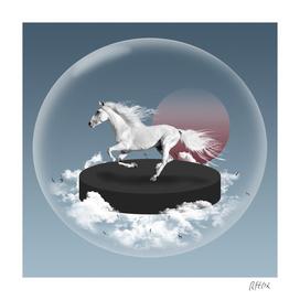Horse bubble
