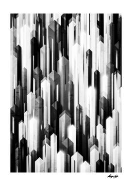obelisk posture 2 monochrome