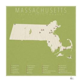 Massachusetts Golf Courses
