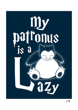 My patronus is a Lazy