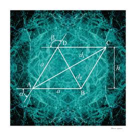 Burning Rhombus