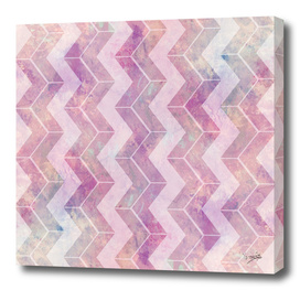 Chevron with watercolor
