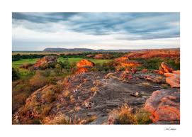 Ubirr Rock in sunset light -Northern Territory, Australia